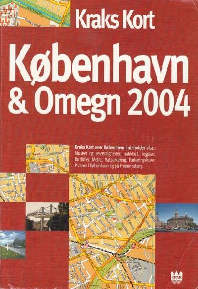 Fa Kraks Kort Over Kobenhavn Og Omegn 2004 Af Boger Kuriosa